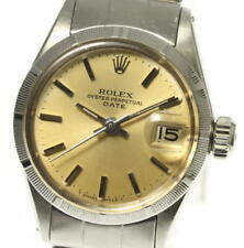 Flaws ROLEX Oyster Perpetual Date antique cal.1130 6519 Automatic Ladies #017