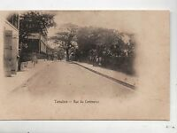 Carte postale MADAGASCAR. TAMATAVE. Rue du Commerce.
