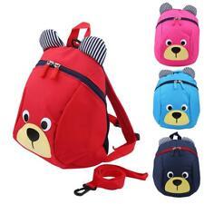 Kid Baby Keeper Toddler Walking Safety Harness Backpack Bag Bat Bear Cartoon LG