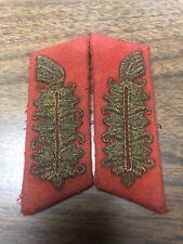 Ww2 German Uniform Collar Tabs Field Marshal