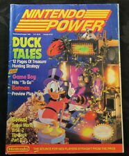 1989 Nintendo Power Magazine #8 Featuring NES Duck Tales, Batman, Gameboy