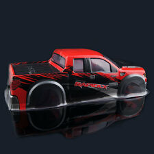 AX032 Red Plastic Body Shell RC AUSTAR For HPI 1/10th Monster Truck & HSP 94188