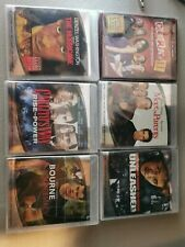 Lot of 6 Various HD DVDs - Stiller, Jet Li, Denzel, Matt Damon, Clerks 2