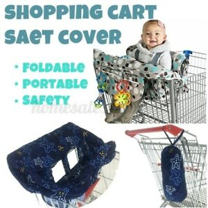 Portable Baby Shopping Cart Seat Chair Cover Protector Mat Cushion 120*70cm