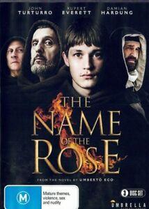 The Name Of The Rose DVD (3-Disc Set) Based on Novel MINI SERIES