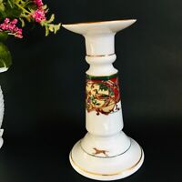 "Noritake ROYAL HUNT 7"" Candlestick 3930 Taper Candle Holder"