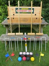 John Jaques of London Odney Croquet Set