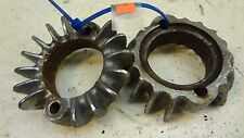 73 Honda CL200 CB200 CL CB 200 H941' exhaust header pipe manifold clamps flanges