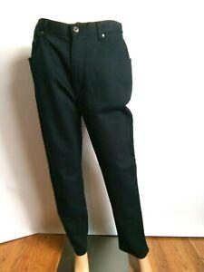 JDV Joie De Vivre Women`s Jeans Size-16 Black Denim Comfort Designer