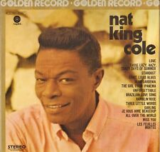 "NAT KING COLE ""GOLDEN RECORD"" JAZZ VOCAL 70'S LP CAPITOL 2C064-81267"
