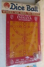 UNOPENED DICE BALL-OFFICIAL GAME OF INDIANA HOOSIERS NCAA CHAMPS 1940-53-76-81