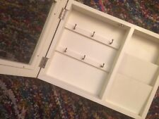 Letter Organizer Mail Key Holder Home Office Decor Wall Mount Heavy Duty White F