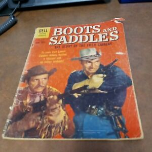 Boots and Saddles, Four Color Comics #1116 1960-Dell--photo cover-TV Western