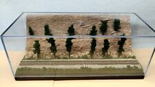 Z Scale Display Case 1 Track Cliff Scenic- For Any Z Loco & Trains -Vzw11-5 A1