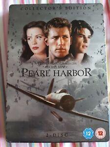 Pearl Harbor (DVD, 2008, 2-Disc Set) Steelbook DVD 2 Disc Collectors War Movie