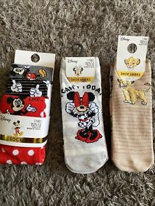 Disney Socks Bundle - 9 Pairs