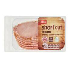 Coles Dy Bacon Short Cut Rindless 200g