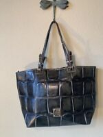 DOONEY & BOURKE Maxine Leather Tote OLIVE GREEN  croc