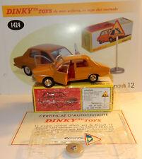 DINKY TOYS ATLAS RENAULT 12 R12 1969 MARRÓN CLARO 1/43 REF 1424 EN BOX