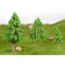 5pcs Craft Pine Tree Miniature Fairy Terrarium Figurine Fairy Ornament S
