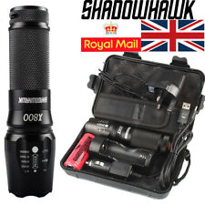 100% Genuine 20000lm Shadowhawk X800 Tactical Flashlight LED Military Torch G700