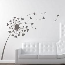 Pegatinas y plantillas de pared sin marca de amor y corazones para el hogar