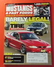 MUSCLE MUSTANGS & FAST FORDS MARCH/2006....BARELY LEGAL: HOT 3-WAY TIRE SHOOTOUT
