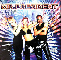 "Mr. President ‎12"" Take Me To The Limit - Germany (VG+/EX)"