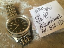 Plexi IWC Aquatimer 812 AD Plexi Glass VERY RARE PARTS *NO WATCH*