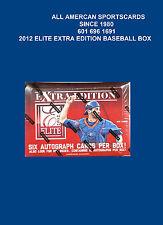 2012 PANINI ELITE EXTRA EDITION BASEBALL FACTORY SEALED HOBBY BOX  20 PACKS OF 5