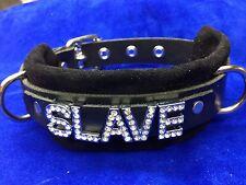 Leather collar Choose  word!