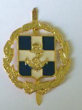 Greek Cypriot Military Navy Cap Badge Original