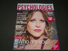 2005 OCTOBER PSYCHOLOGIES MAGAZINE - PREMIER ISSUE - MEG RYAN COVER - O 9237