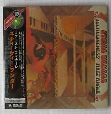 Stevie WONDER-fulfillingness 'first finale Japan mini LP CD NUOVO RAR! UICY - 9253