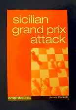 (Chess books)  Sicilian Grand Prix Attack by James Plaskett