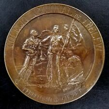 1924 National School of Trelew, Chubut Territory, Inauguration bronze medal!