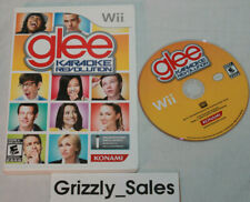USED Karaoke Revolution Glee Nintendo Wii (NTSC) Canadian Seller!!