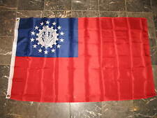 3x5 Myanmar Country Burma Union 2010-Present Flag 3'x5' Banner Brass Grommets