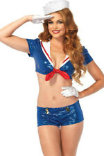 Sexy Sequin Sailor Costume from Leg Avenue Size XSmall