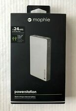 MOPHIE POWERSTATION QUICK CHARGE EXTERNAL BATTERY FOR CELL PHONE 24 HOURS CHARGE