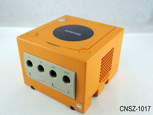 Japanese Nintendo Gamecube Orange Console NGC System Import Spice JP US Seller B