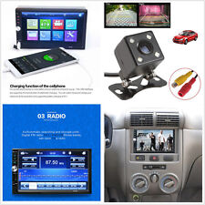"12V 7"" 2-Din Touch Screen Car SUV Video Radio Stereo MP5 Player Bluetooth FM USB"