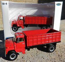 NEW 1:64 Top Shelf Replicas *ALL RED* Ford L9000 GRAIN TRUCK HAULER DCP *NIB*