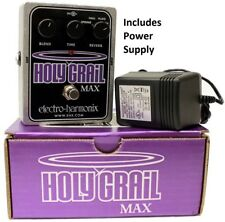 Electro Harmonix Holy Grail Max Reverb w/ AC Adapter - AUTHORIZED DEALER NEW