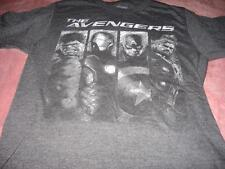 Marvel The Advengers Gray Sketched    Adult  Small T-Shirt