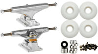INDEPENDENT 139mm Skateboard TRUCKS 52mm Wheels and Bearings COMBO PACKAGE