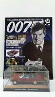 1/43 JAMES BOND 007 DIE CHEVROLET IMPALA #54 + MAGAZINE