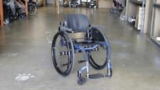 TiLite Aero Z Rigid Manual Wheelchair 16 x 17 Blue | DEALER DEMO