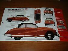★★1951 AUSTIN A90 ATLANTIC ORIGINAL IMP BROCHURE SPECS INFO 51 48-52★★