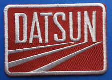Retro Datsun Iron On Car Club Seat Cover Hat Jacket Patch Crest